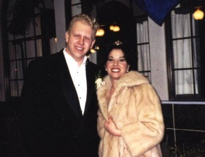 Paul & Maria on their wedding day, February 14, 1998